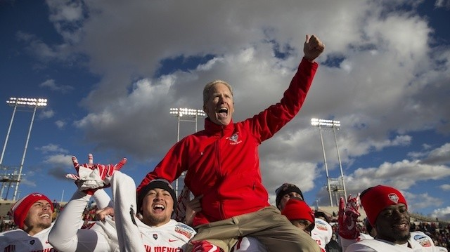Bob Davie and New Mexico Were CFB's Comeback Story Of The Year