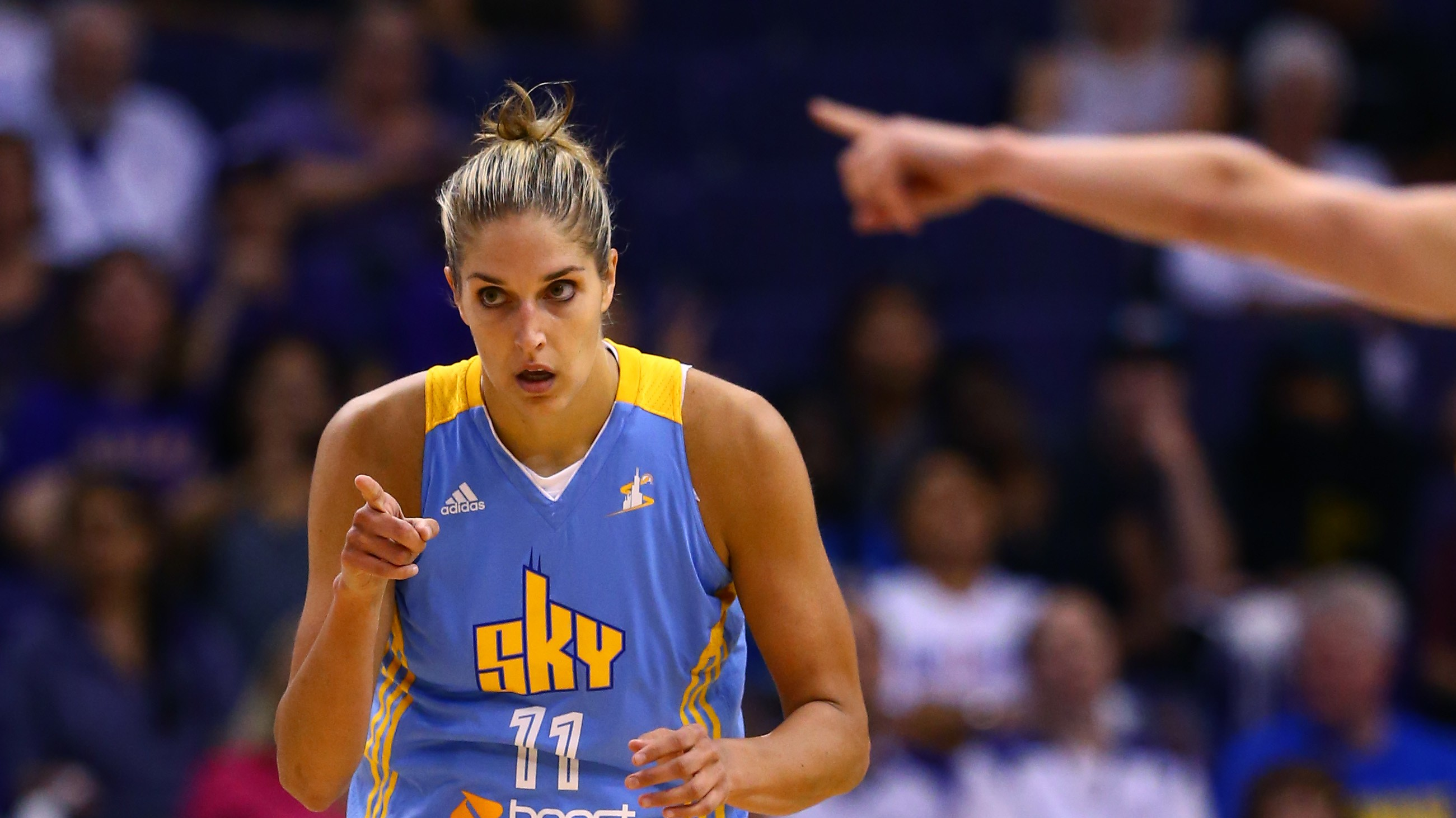 "Chicago Sky Owner Calls Elena Delle Donne Trade a ""Strong Possibility"""