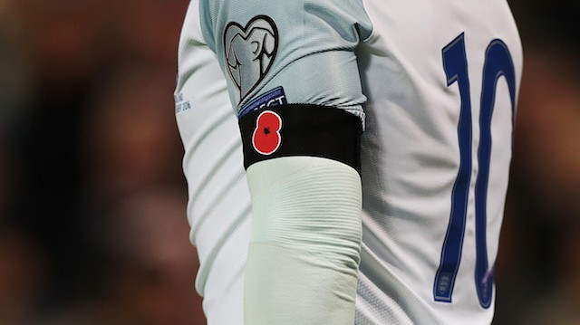 FIFA Fines England Over £35,000 For Display Of Poppies During World Cup Qualifiers