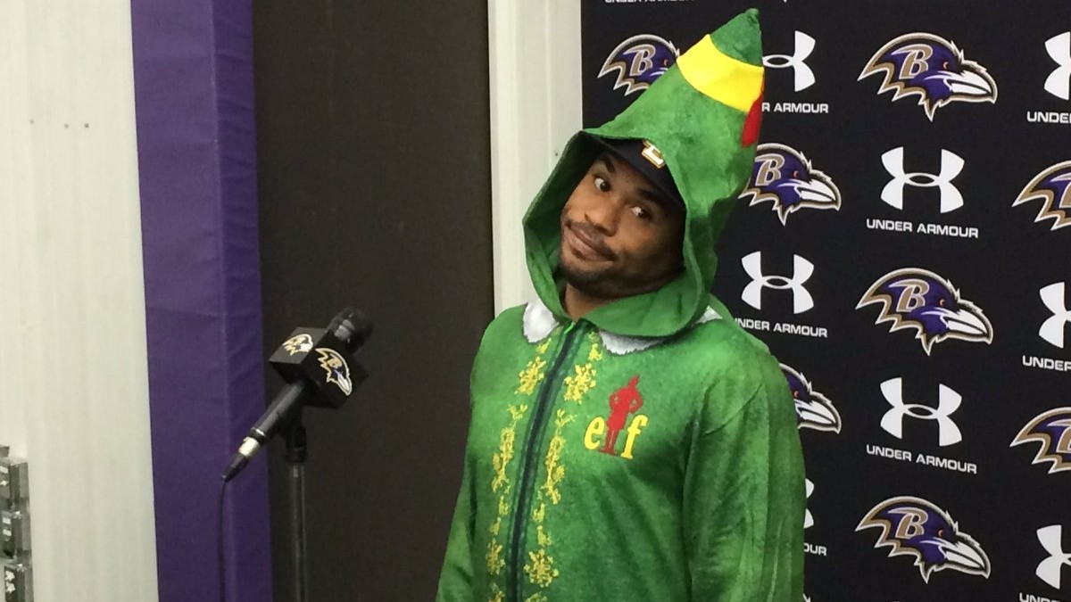 And Now, Steve Smith Dressed Up as Elf