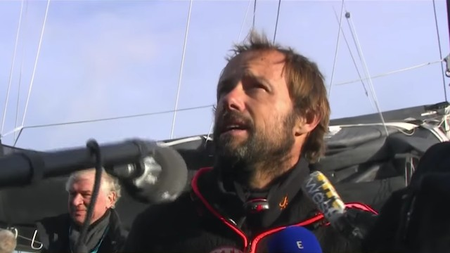 France's Thomas Coville Breaks Record for Sailing Solo Around the World by 8 1/2 Days