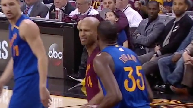 Kyrie Irving Offers to Pay Fine For Richard Jefferson's Wink at Kevin Durant