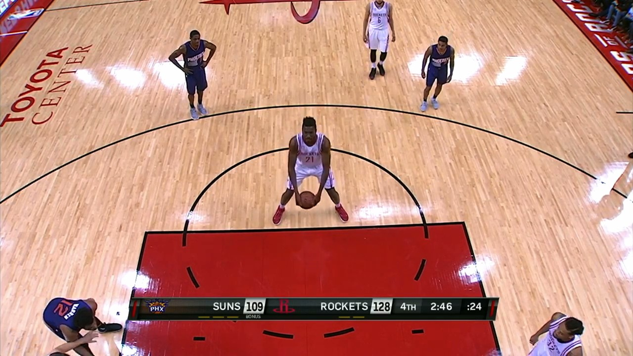 Rockets Rookie Chinanu Onuaku Brings Back Granny-Style Free Throw in NBA Debut