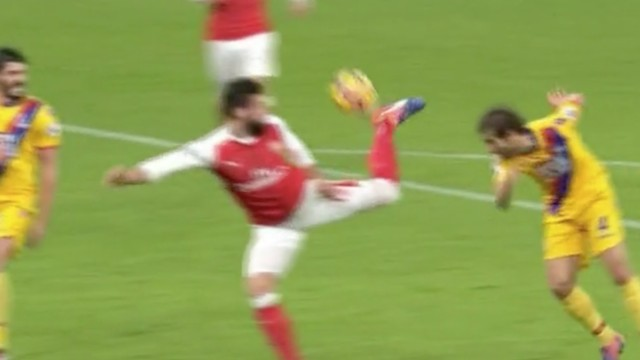 Olivier Giroud Scored an Incredible Goal; It Happens to Be 2017