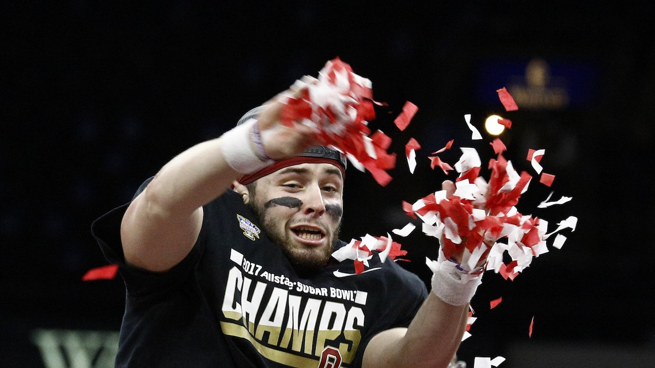 Baker Mayfield is College Football's Most Fun Player