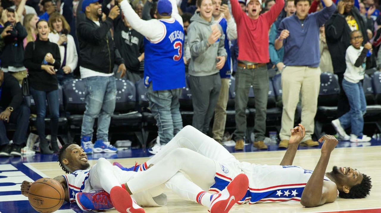 76ers Win on Last-Second Alley-Oop Inbound Play