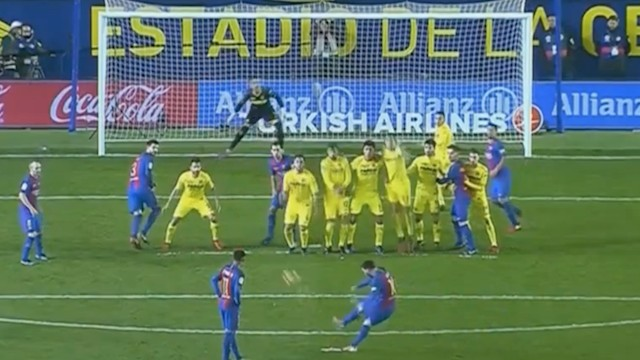 Messi Just Achieved Self-Actualization With This Immaculate Free Kick