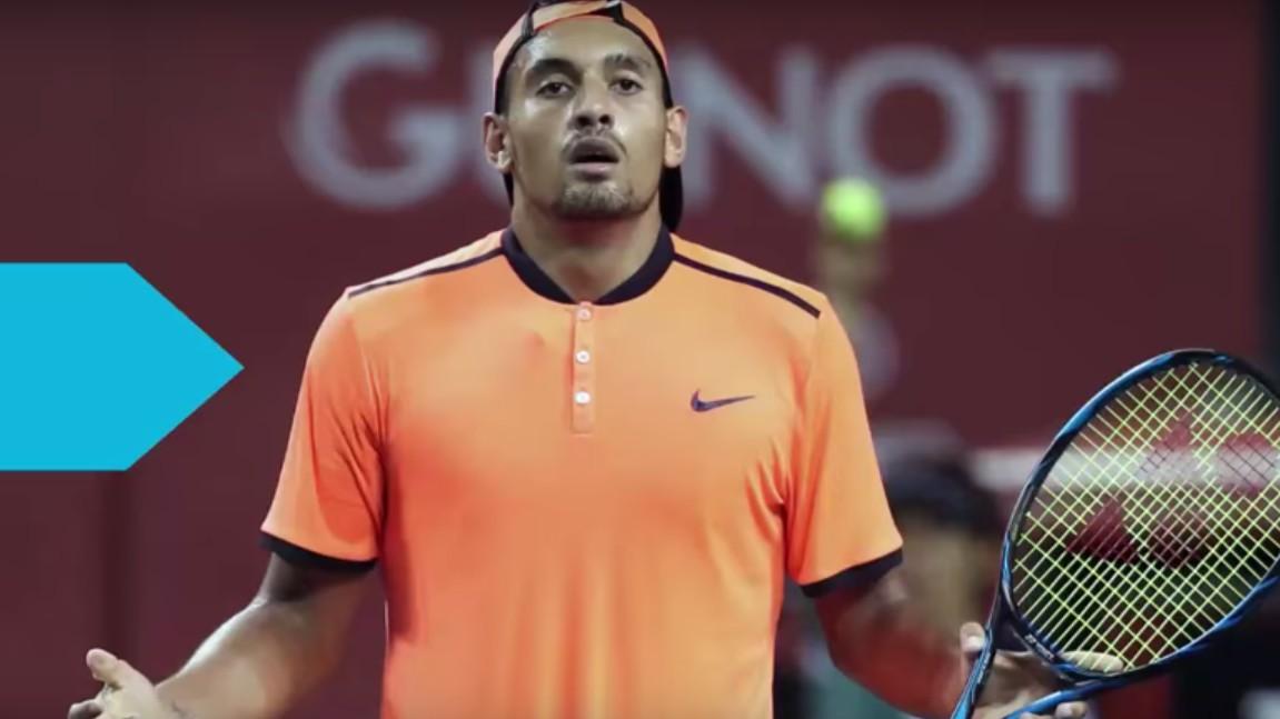 Aussie Tennis Bad Boy Nick Kyrgios Takes Serve … At Donald Trump
