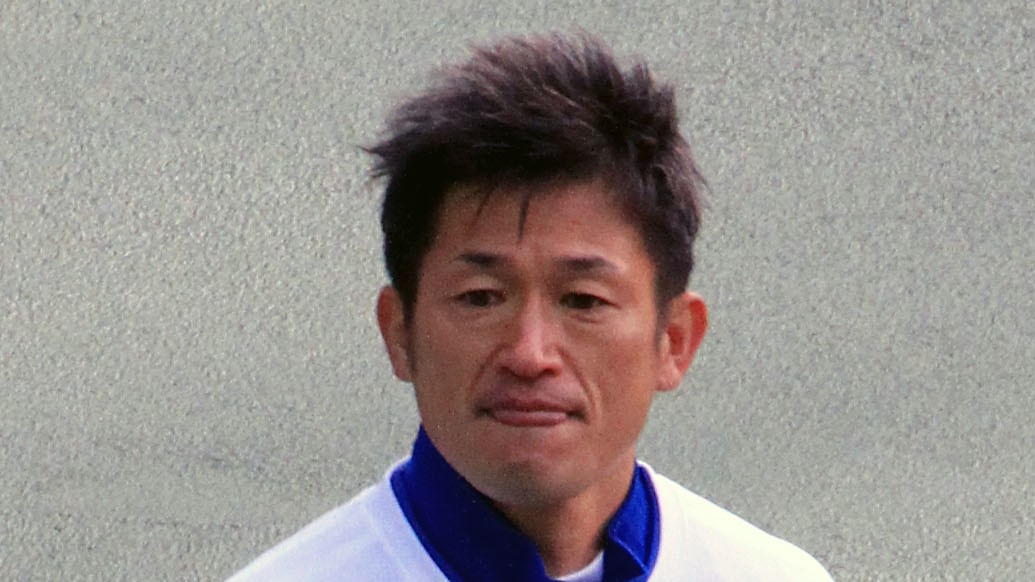 Japanese Soccer Legend Kazuyoshi Miura, 49, Will Play Another Year