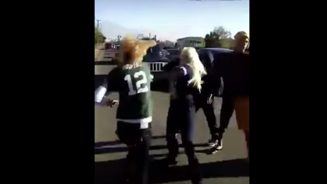 Fans in Aaron Rodgers Jerseys Got Particularly Roughed Up at Packers vs. Cowboys Game