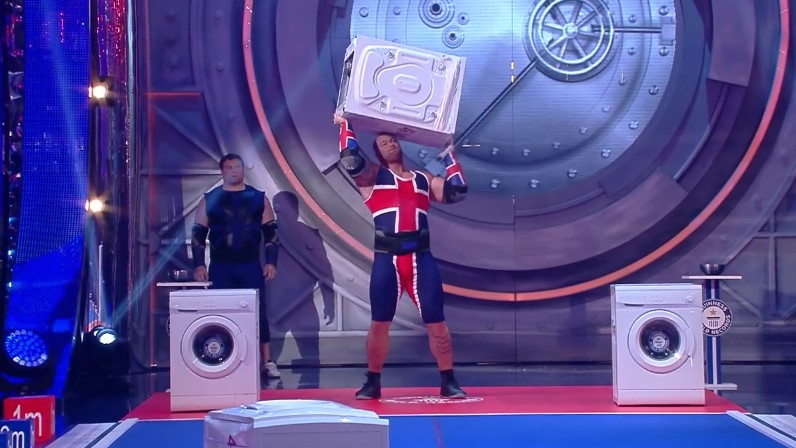 La Montaña de Juego de Tronos pierde un concurso de lanzamiento de lavadoras