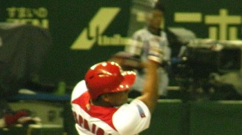 Cuba's Alfredo Despaigne Hits Glorious Championship Series Extra Innings Homer, Gloriously Admires It