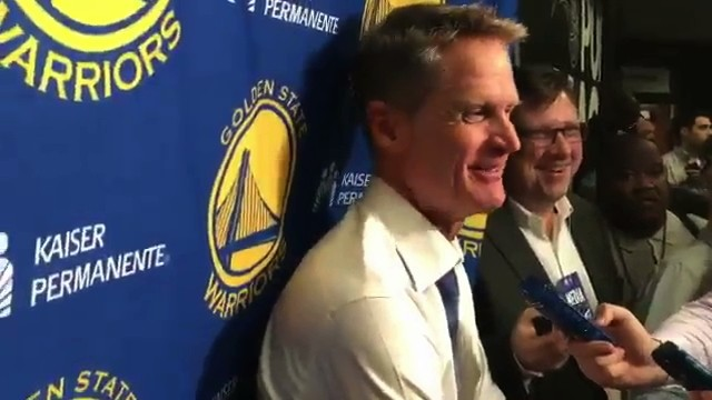 Steve Kerr Makes Donald Trump Joke About His Forgettable Time with Orlando Magic