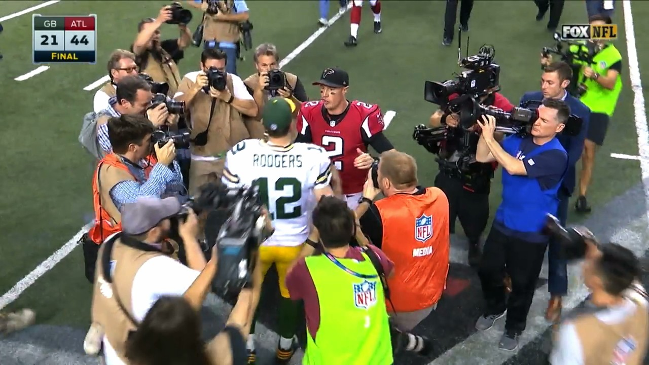 The Falcons Could Do Anything, and The Packers Couldn't Do Anything Right