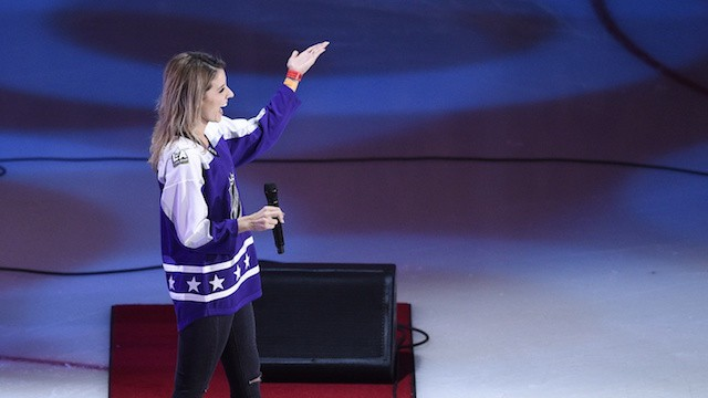 Kings Ice Crew Member Crushes National Anthem at NHL ASG After Fifth Harmony Bails Last Minute