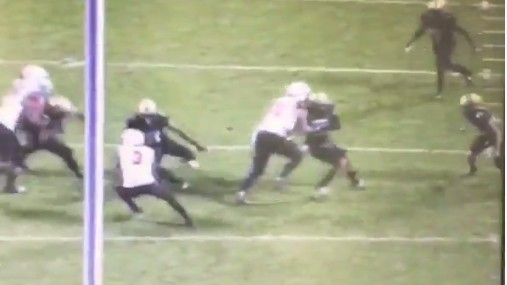 Watch this Lineman Block a Linebacker and Manhandle Him into Eternity