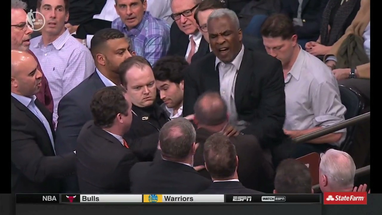 Charles Oakley Arrested after Bizarre Fight with MSG Security During Knicks Game [UPDATE]