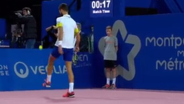 Benoît Paire Plays Some Sweet Mid-Match Keepie-Uppie With Tennis Ball