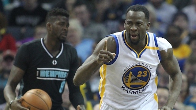 Watch: Draymond Green Records NBA's First-Ever Triple Double with Less Than 10 Points