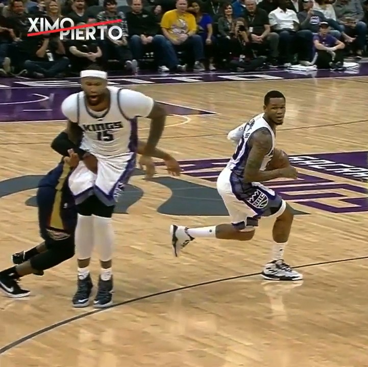 From heel to Hield in Sac-Town....