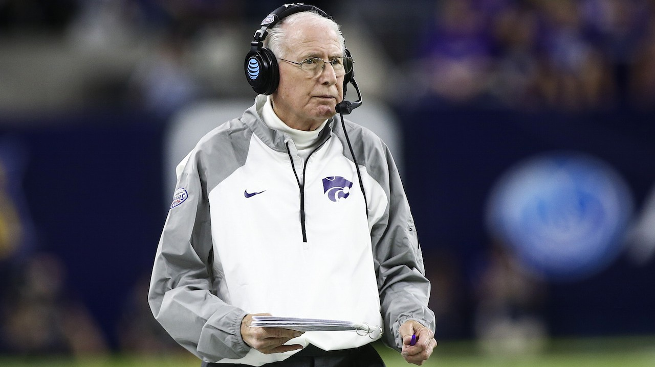 ​Kansas State Football Coach Bill Snyder Announces He Has Throat Cancer, Will Still Coach