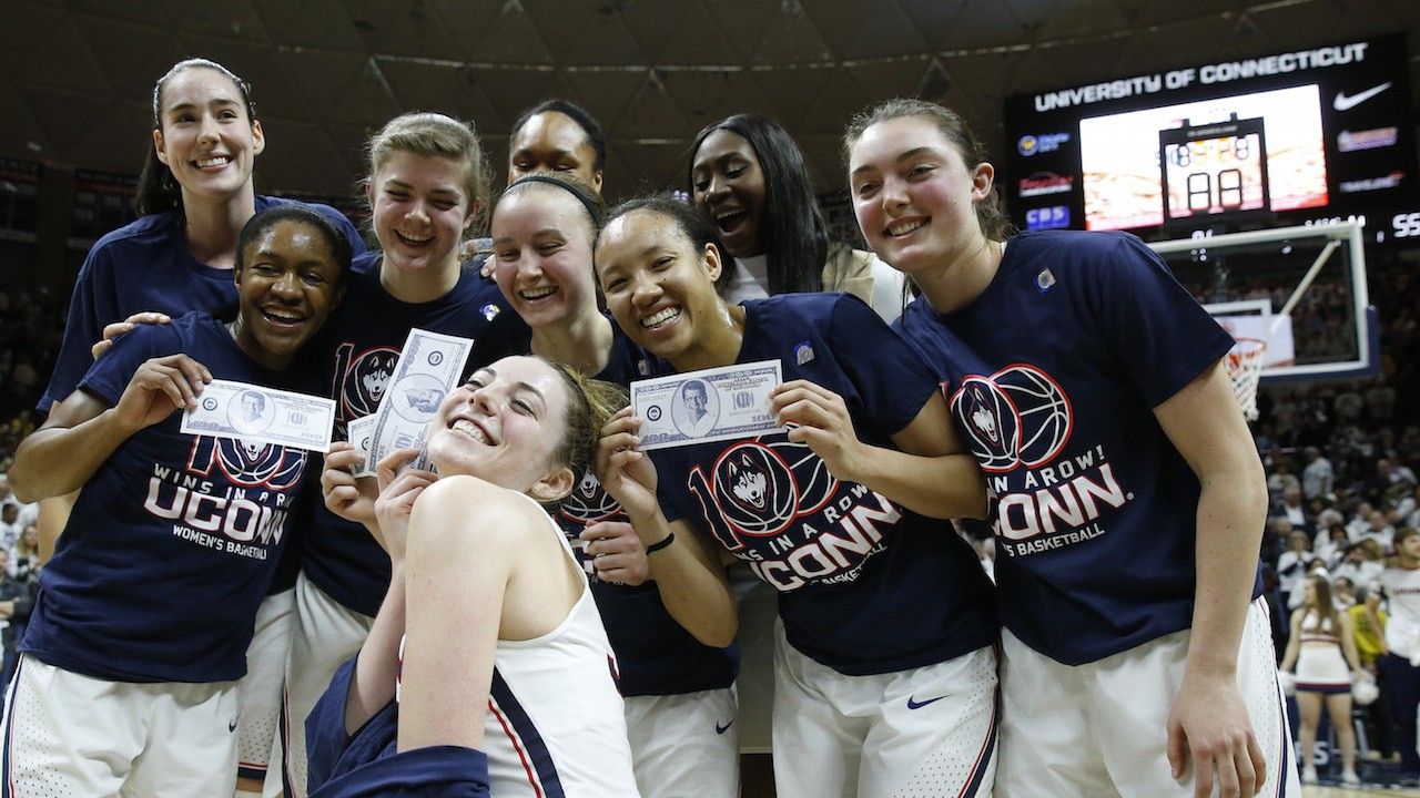 UConn Wins 100th Consecutive Game