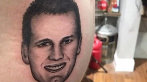 In Bizarre Display of Admiration, Area Man Gets Tom Brady's Face Tattooed On His Butt