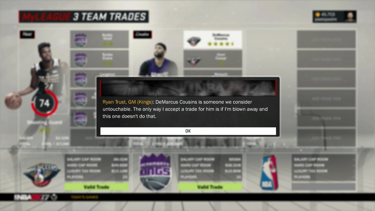 Video-Game Kings GM Rejects the Deal the Actual Kings Accepted for DeMarcus Cousins