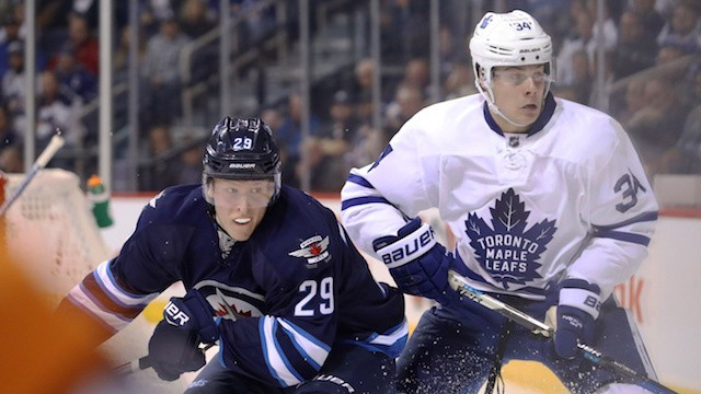How Super Rookies Auston Matthews and Patrik Laine Compare Going into Round 2 Showdown