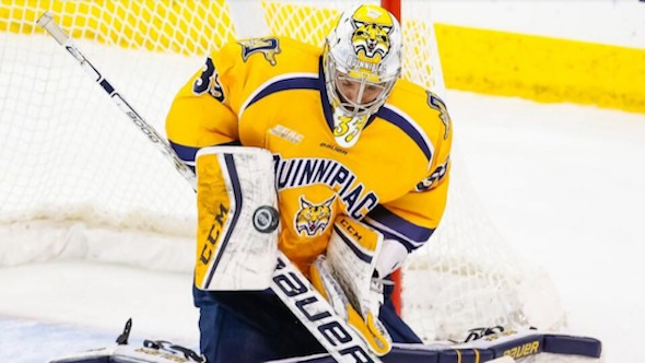 NCAA Hockey Goalie Is Allergic to Ice