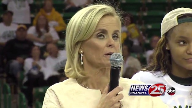"Baylor Coach Kim Mulkey on Parents Concerned About Sexual Assault Scandal, ""Knock Them Right in the Face"""