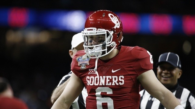 Oklahoma Sooners QB Baker Mayfield Arrested for Public Intoxication