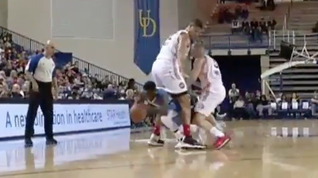 "Nate Robinson Dribbles Entire Body Through 7'3"" Defender's Legs in NBA D League"