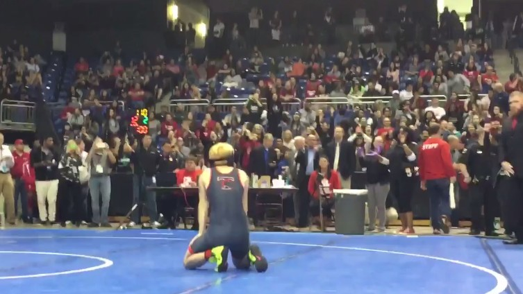 Transgender Wrestler Mack Beggs Gets Booed After Winning Texas State High School Girls Title