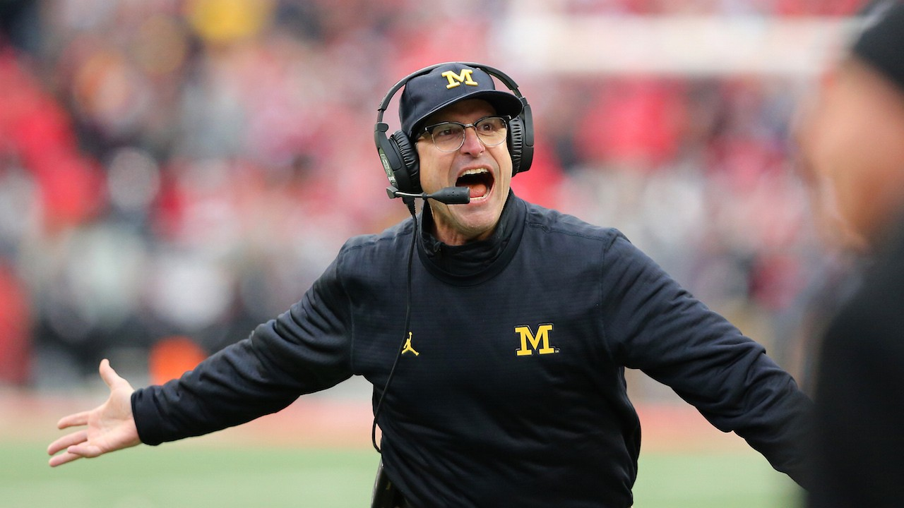 Jim Harbaugh Calls Out Trump's Proposed Budget Cut for Legal Aid to the Poor