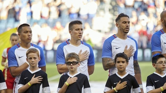 "US Soccer Makes Policy That Mandates Players ""Stand Respectfully"" During National Anthem"