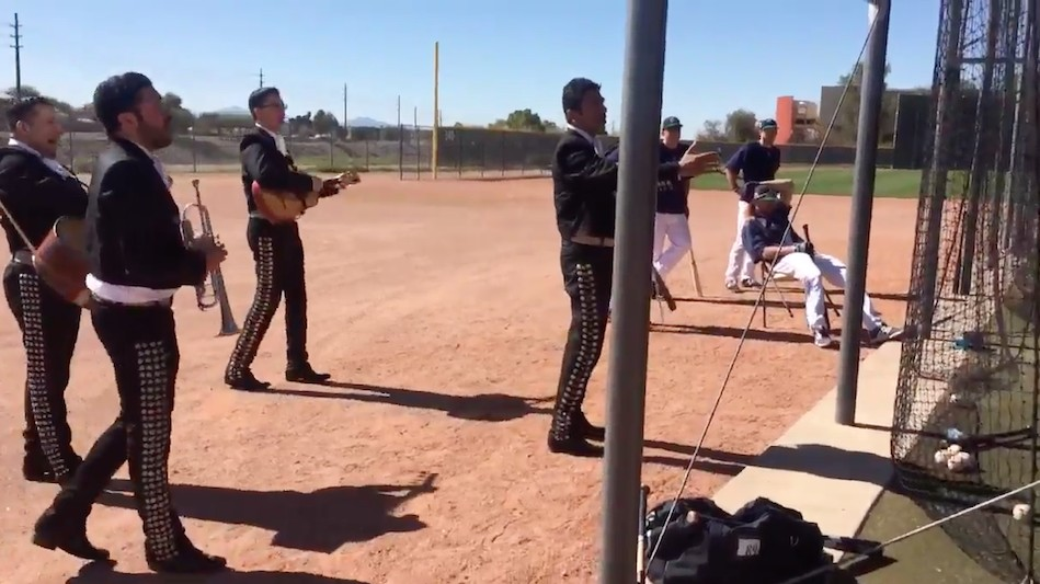 For Some Reason Mariners Get Leonys Martin a Mariachi Band for Birthday