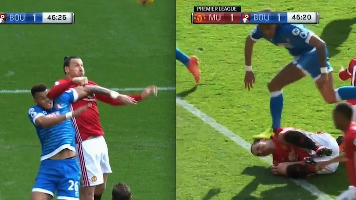 Zlatan and Mings Charged with Violent Conduct after Rough Weekend for EPL Refs