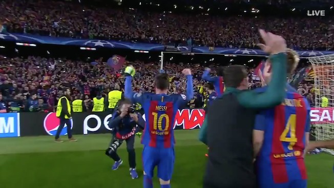 Barcelona Pull off Miracle Comeback Against PSG to advance in Champions League