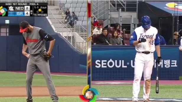 Two Extremely Tall Guys Made Baseball History In The World Baseball Classic