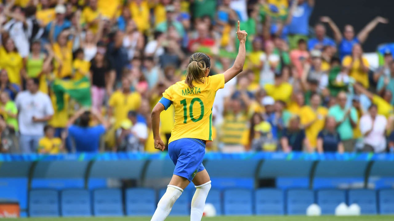 Report: Brazilian Superstar Marta to Join NWSL's Orlando Pride