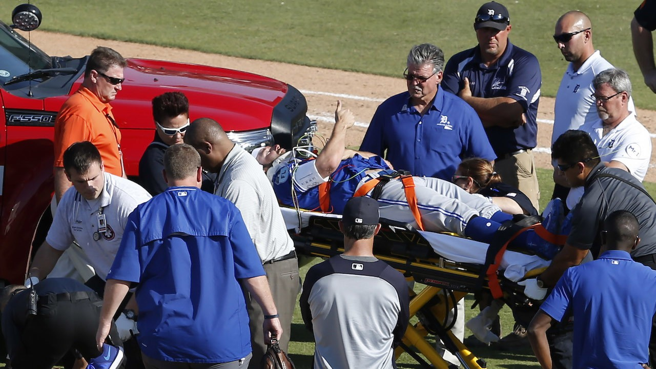 Blue Jays Game Called After Reliever T.J. House Hit in Head by Line Drive