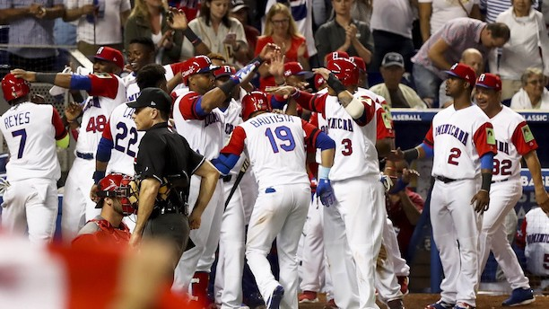 Jose Bautista Batters Canada in Dominican's Predictable WBC Rout