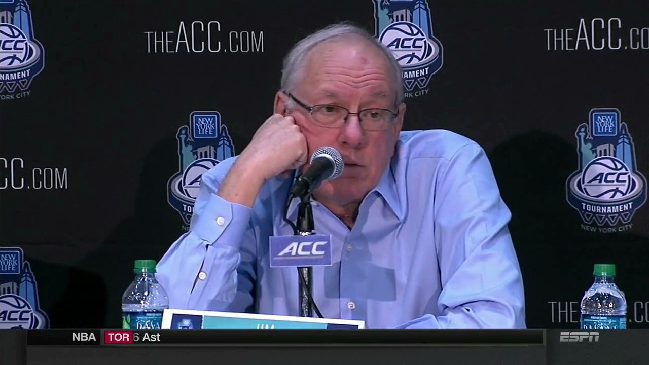 After Saying City Had No Value for ACC, Jim Boeheim and Syracuse Will Play UNC Greensboro in NIT
