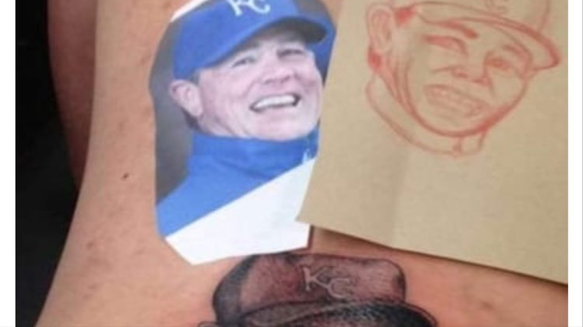 This is a Truly Hideous Tattoo of Royals Manager Ned Yost - VICE Sports