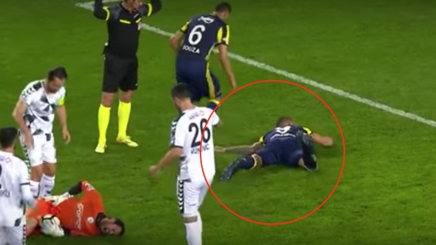 Turkish League Player Lands on Arm, Breaks It in the Worst of Ways