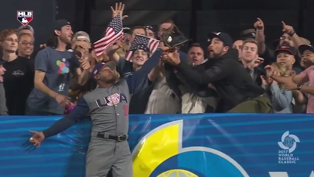 Adam Jones' Catch that Robbed the Dominican Republic May Have Made A Legend of Team USA Yet