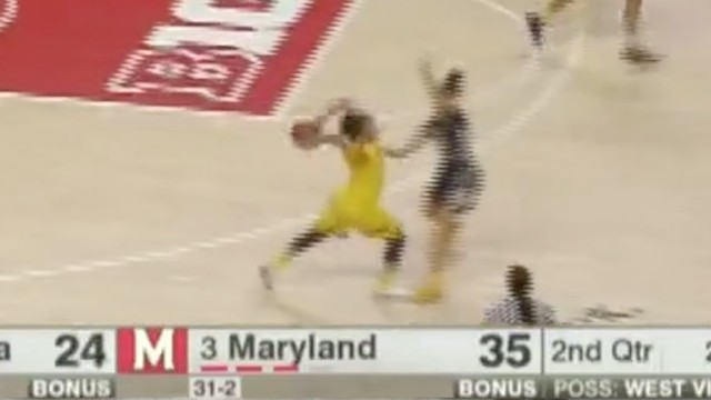 This Maryland Soccer Throw-In Bucket Is Easily the Best of March 'Madness' So Far