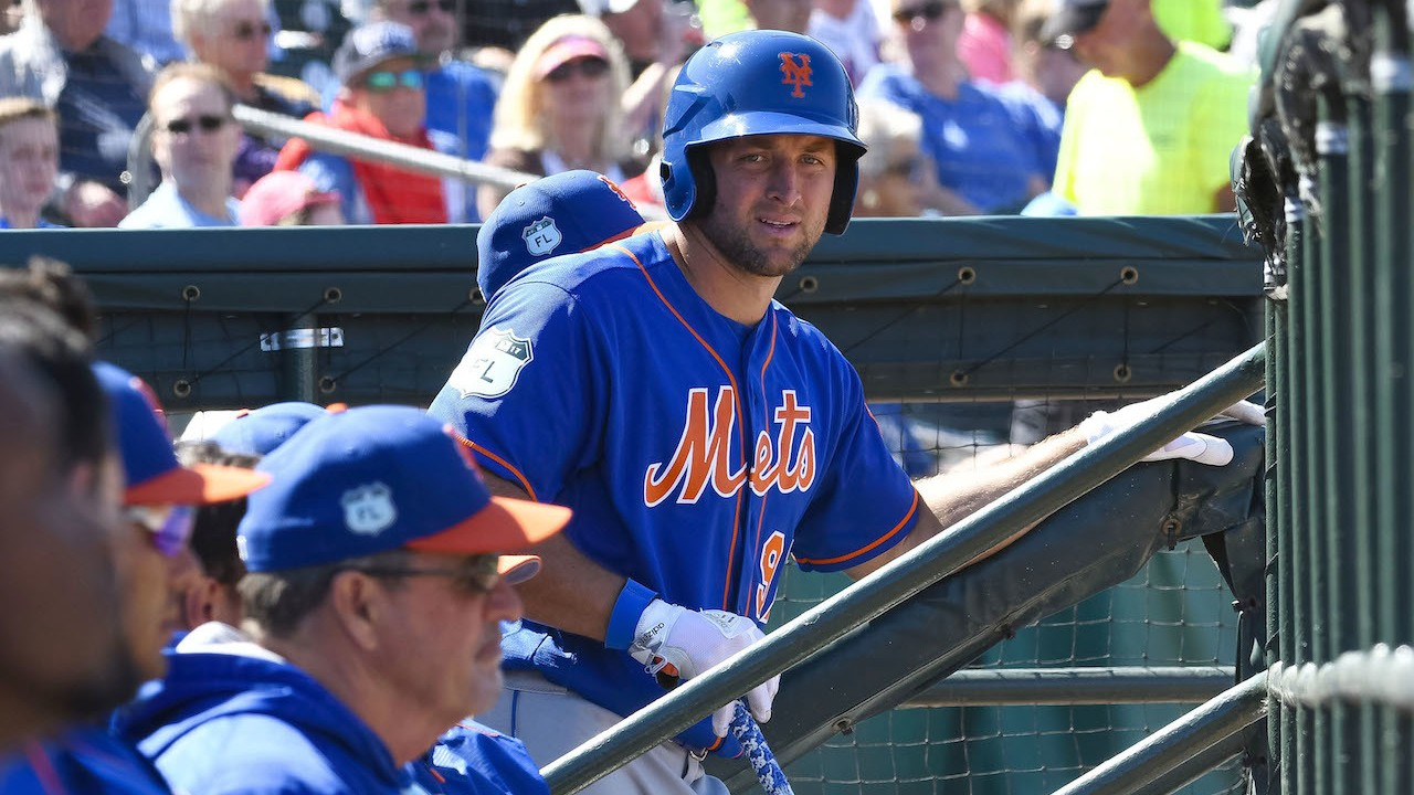 Introducing Single-A Baseball Player Tim Tebow
