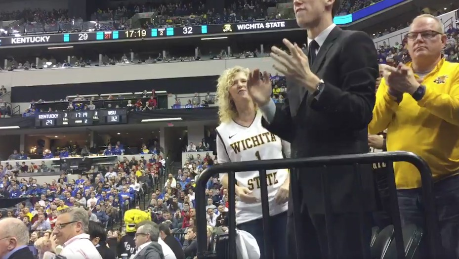 NCAA Makes Reporter Delete Video of Wichita State Coach's Wife Being Loud